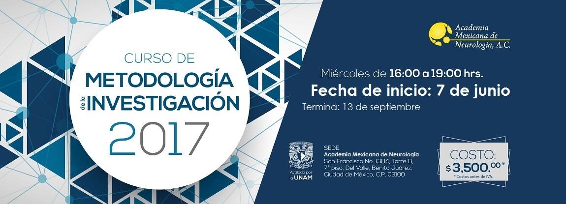 Curso de Metodología de la Investigación 2017.